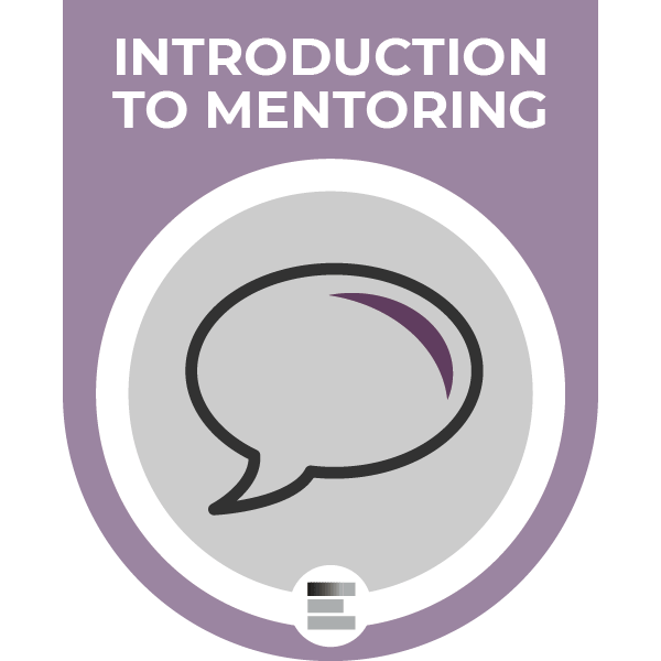 Introduction to mentoring badge