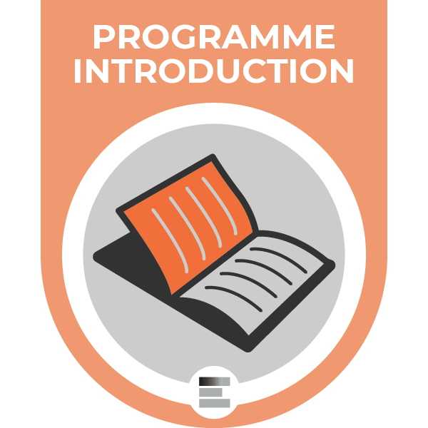 Programme Introduction badge
