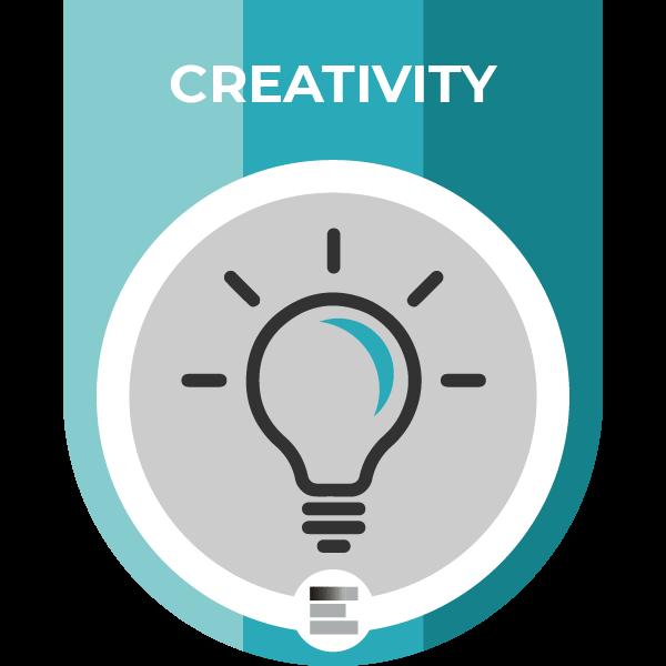 Creativity badge