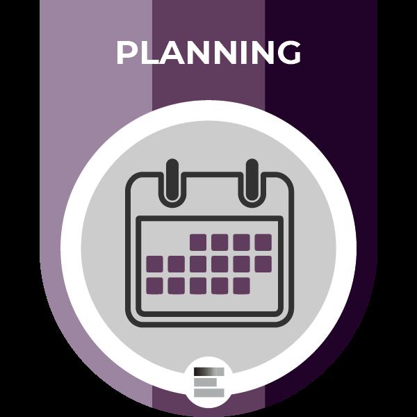 Planning badge