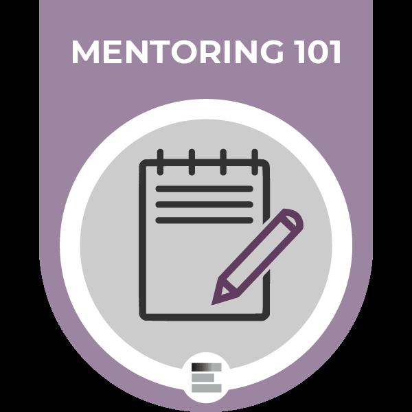 Mentoring 101 badge