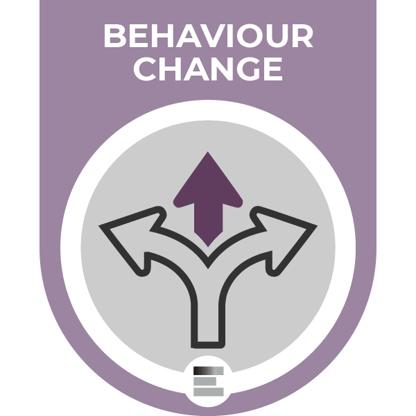 Behaviour Change badge