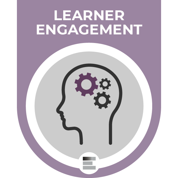 Learner Engagement badge