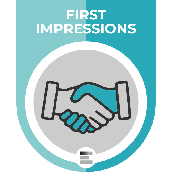 First Impressions badge