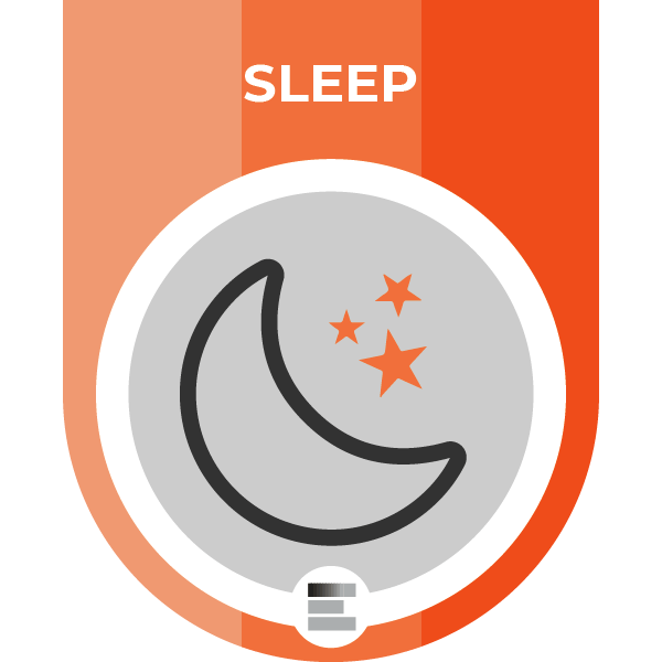 Sleep badge