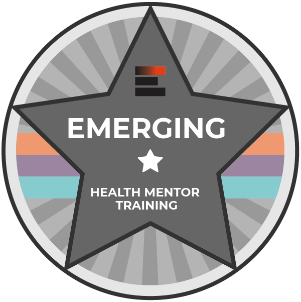 Emerging badge