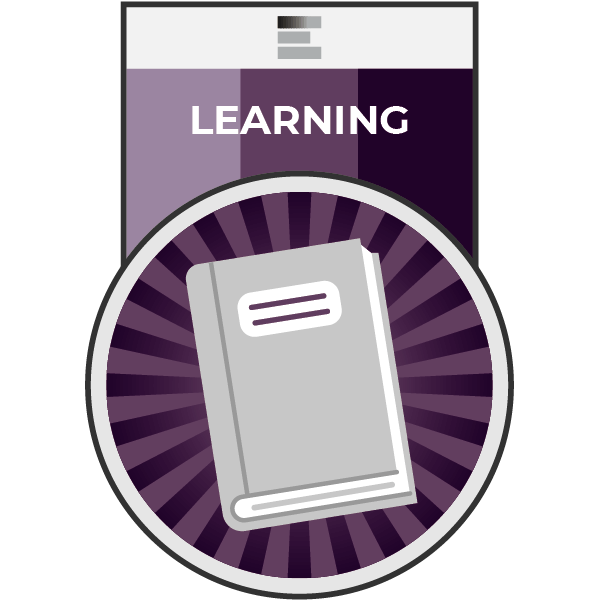 Learning badge