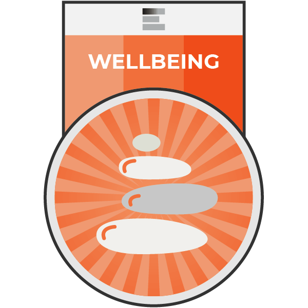 Wellbeing badge