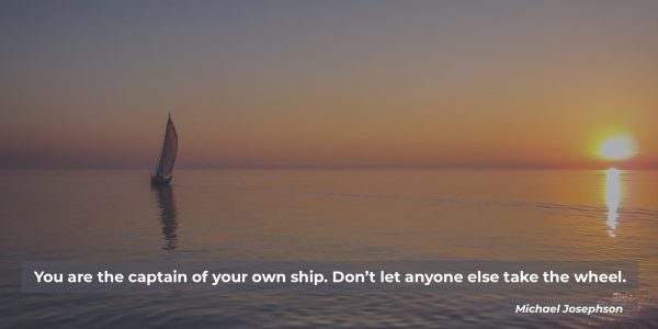 Captain of your own ship